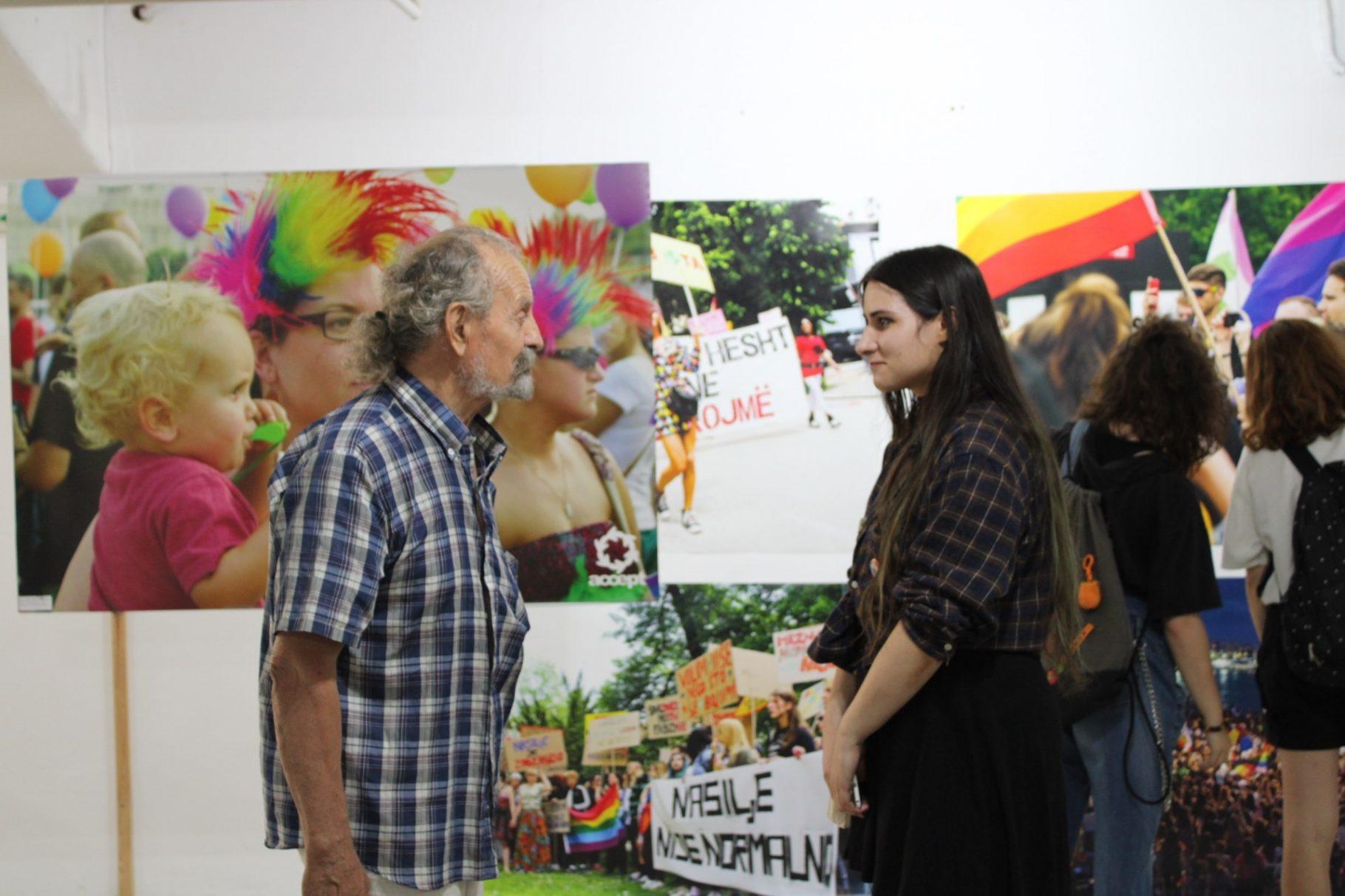 "The GLAS Foundation opened the exhibition ""Balkan Pride # Balkan Pride"" in Plovdiv"