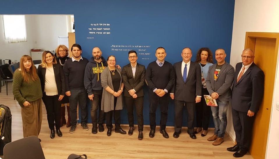 """Фондация GLAS и Организацията на евреите в България """"Шалом"""" сключиха Меморандум за разбирателство и сътрудничество"""